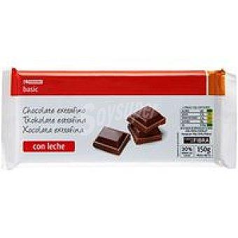 Eroski Basic Chocolate con leche Tableta 150 g