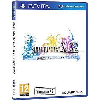 PS VITA  Final Fantasy X Y X-2 Hd Remaster para PS Vita 1 Unidad