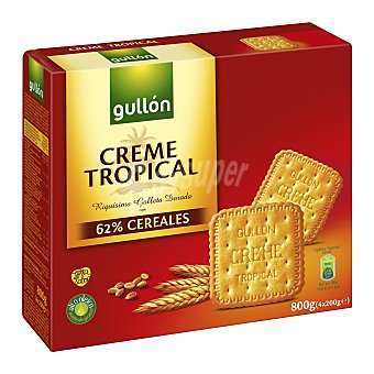 Gullón Galleta Crema Tropical 800 g