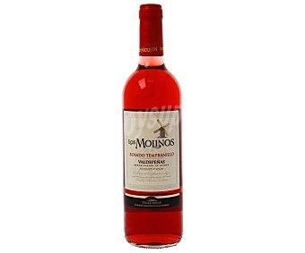 Los Molinos Vino Valdepeñas rosado 75 CL
