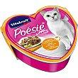 POESIE comida húmeda para gatos adultos en salsa de pavo y queso lata 85 g lata 85 g Vitakraft