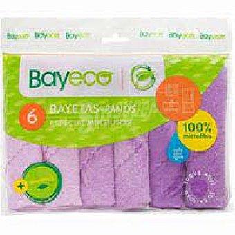 Bayeco Bayeta microfibra multiusos Pack 6 unid
