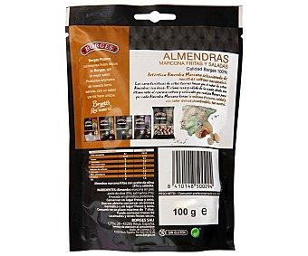 Borges Almendra marcona con aceite de oliva y sal marinada 100 gramos