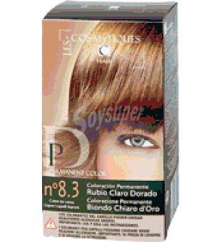 Les Cosmetiques Tinte permanente Rubio Ceniza 8.3 1 ud