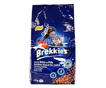 Brekkies Affinity Alimento completo para gatos adultos, con carne y pescado 1,5 Kilogramos