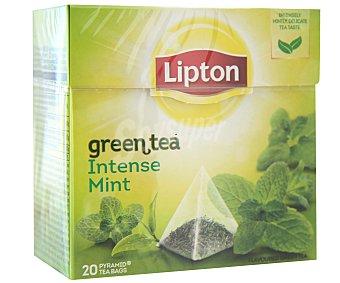 Lipton té verde menta intensa Estuche 51 g (20 bolsitas)