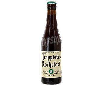 ROCHEFORT-8 Cerveza trapense belga Botella de 33 centilitros