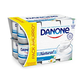 Danone Yogur natural Pack 12 x 125 g