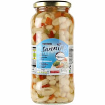 Eroski Sannia Alubias con verduras Tarro 400 g