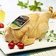 Galicia Calidade pollo fresco tipo A entero para asar peso aproximado bandeja 2 kg Galicia calidad