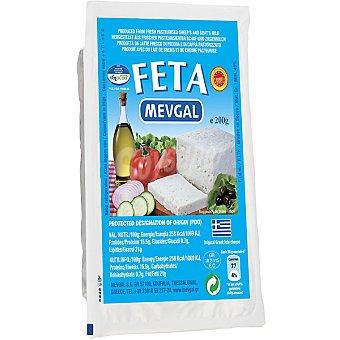 MEVGAL Queso griego feta Envase 200 g
