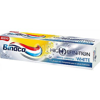 Binaca Pasta dentífrica High Definition White menta luminosa tubo 75 ml Tubo de 75 ml