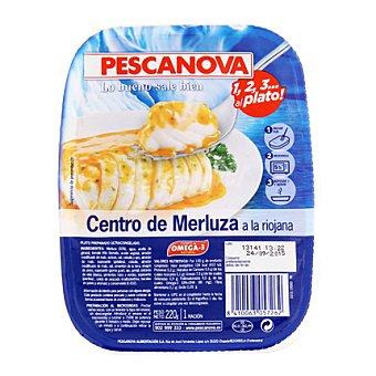 Pescanova Centros merluza en salsa riojana 220 g