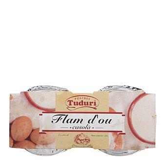 Tuduri Flan de huevo Pack de 2x125 g