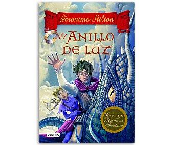 JUVENIL Geronimo Stilton, Crónicas del Reino de la fantasía 4, El anillo de luz. vv.aa. Género: juvenil. Editorial: Destino. Descuento ya incluido en pvp. PVP anterior: