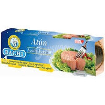 BACHI Atún en aceite Pack 3