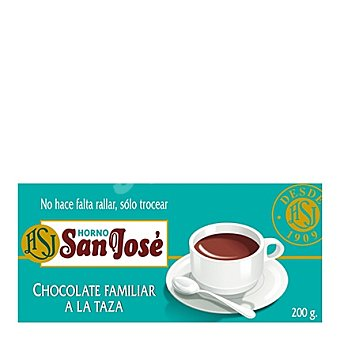 Horno S. Jose Chocolate a la taza Tableta 200 g