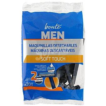 Bonté Maquinilla de afeitar desechable 2 hojas bolsa 20 uds