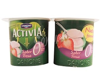 ACTIVIA de DANONE Yogur Bífidus 0% Fresa 4x125g