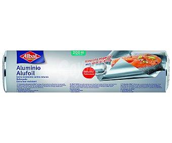 ALBAL Papel de aluminio de 200 metros 1 unidad