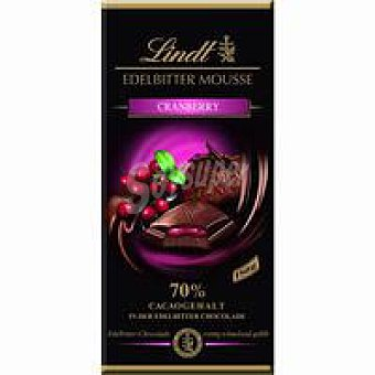 Chocolate 70% relleno de arándano rojo creation Tableta 150 g