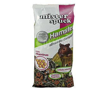 MISTER SPUCK Comida para hamster 450 gramos