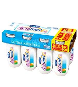 Actimel Danone 0% sabor naturalpack 8X100 GRS