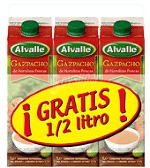 Alvalle Tripack gazpacho 1l