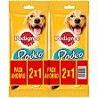 Rodeo snacks para perros 2x1 Envase 140 g Pedigree