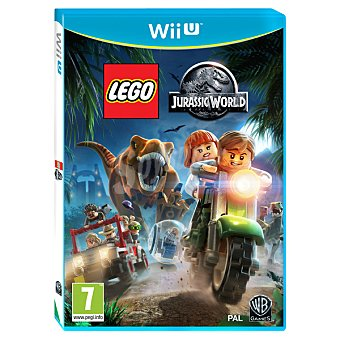 WII U Videojuego Lego Jurassic World  1 Unidad