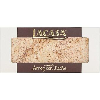 Lacasa Turrón praliné de arroz con leche tableta 225 g Tableta 225 g