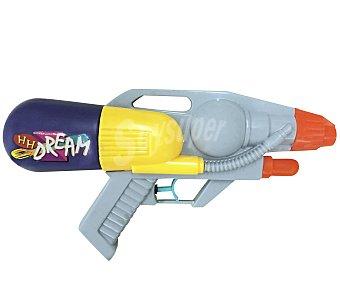 EURASPA Rifle de agua con deposito a la espalda, modelo Super Power de 26,5x15x7 cm 1 unidad
