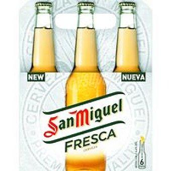 San Miguel Cerveza fresca Pack 6x33 cl