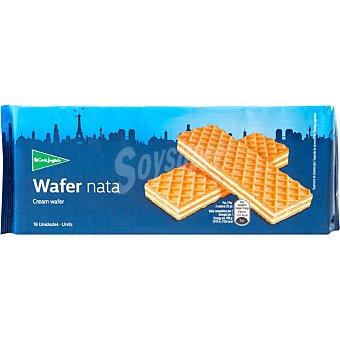 ALIADA galletas wafer rellenas de nata estuche 200 g