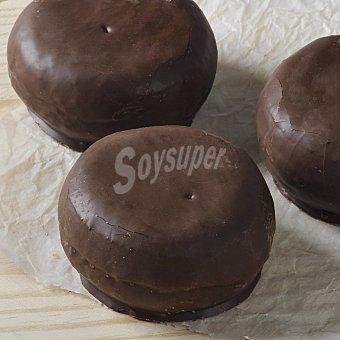 Bombas rellenas de chocolate 4 Ud