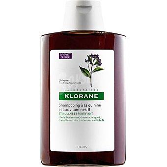 Klorane Champu tratante fortificante con complejo vitaminico B a la Quinina para la caida del cabello Frasco 400 ml
