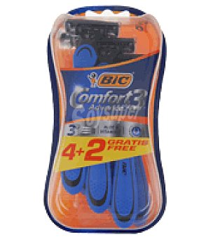 Bic Maquinilla desechable Comfort 3 advance pack 4 uds 1 ud