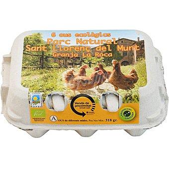 GRANJA LA ROCA Huevos ecológicos Estuche 6 unidades