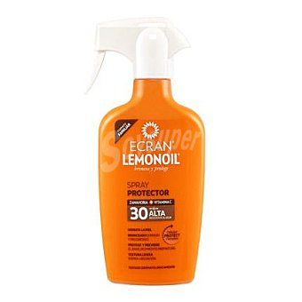 Ecran Aftersun Protector Solar Familiar Spray de Zanahoria FP 30 Lemonoil 300 ml