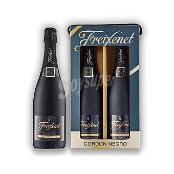 Cordon Negro Estuche cava brut freixenet 2 botella 75cl