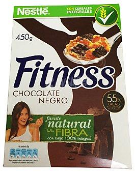 Fitness Nestlé Cereal copos chocolate negro Caja 450 g