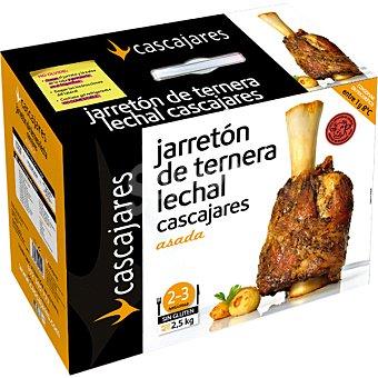 CASCAJARES Jarretón de ternera lechal asado 3-4 raciones Caja 1,7 kg