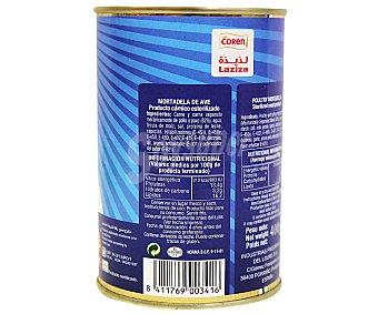 LADID Mortadela de ave Halal 400 gramos
