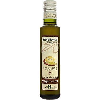 HOJIBLANCA Desayunos y meriendas aceite de oliva virgen extra  botella 250 ml