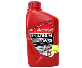 CEPSA Aceite mineral para vehículos gasolina o diésel 1 Litro