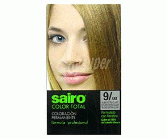 COLOR TOTAL de SAIRO Tinte Rubio Extra Claro 9/00 1u