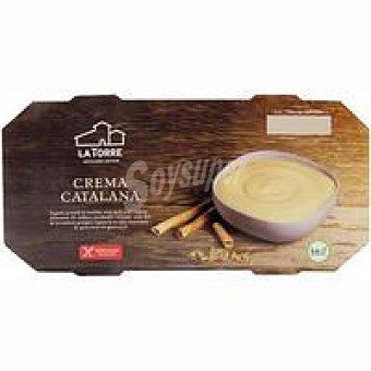 LATORRE Crema catalana Pack 2x120 g