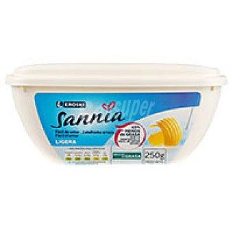 Eroski Sannia Mantequilla ligera Tarrina 250 g