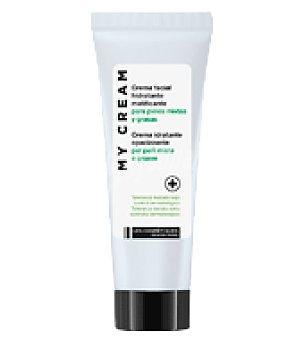 Les Cosmetiques Crema facial hidratante matificante para pieles mixtas y grasas 50 ml