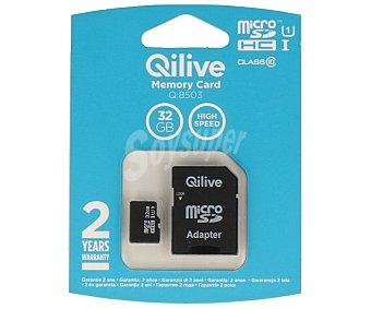 Qilive Tarjeta de memoria Microsdhc 32GB clase 10 1 unidad